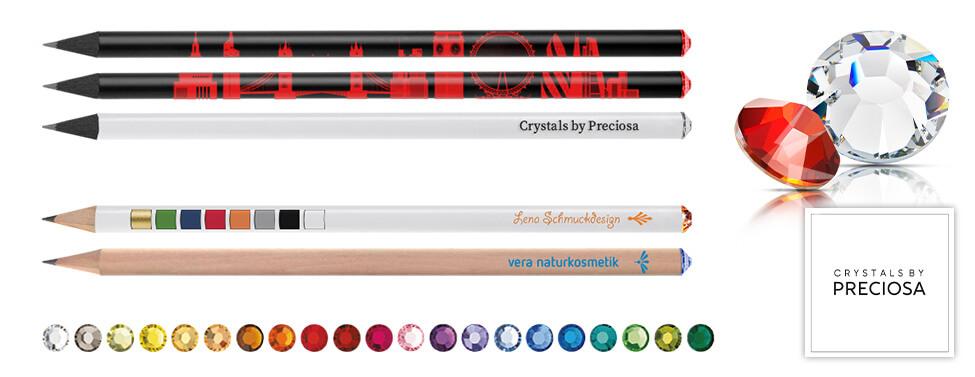1aee1aa9e87f Swarovski Bleistift in verschiedenen Farben | Reidinger.de